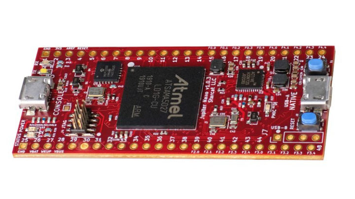 SAMA5 board NuttX RTOS