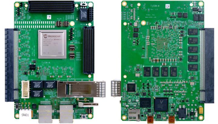 TySOM-M-MPFS250 embedded development board