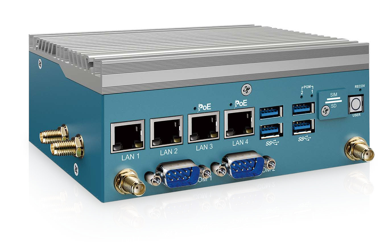 Vecow EAC-2000 fanless embedded-system-NVIDIA Jetson Xavier NX