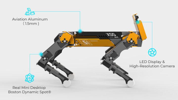 XGO Mini Pro four-legged robot