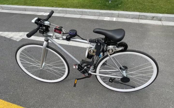 XUAN-bike self-balancing self-riding bicycle