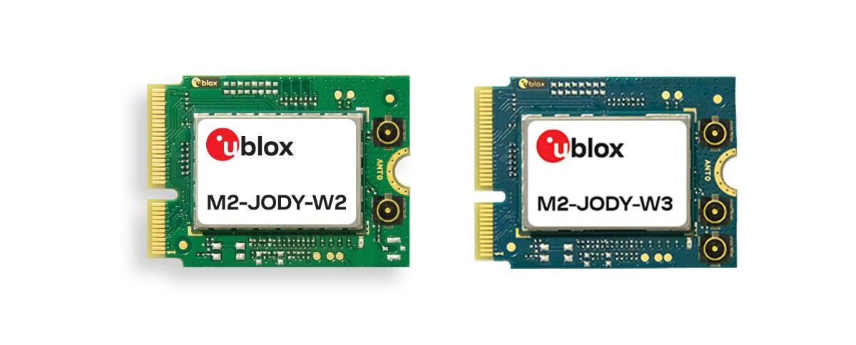 ublox wifi-6 & bluetooth 5 m2 cards
