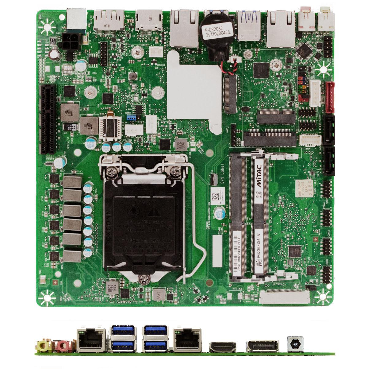 Comet Lake Thin-mini ITX motherboard