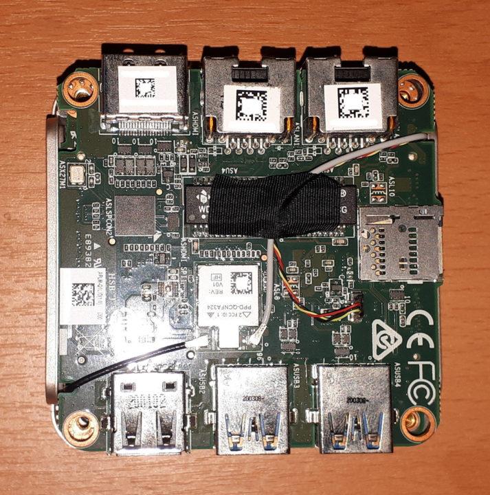 LIVA Q1L motherboard