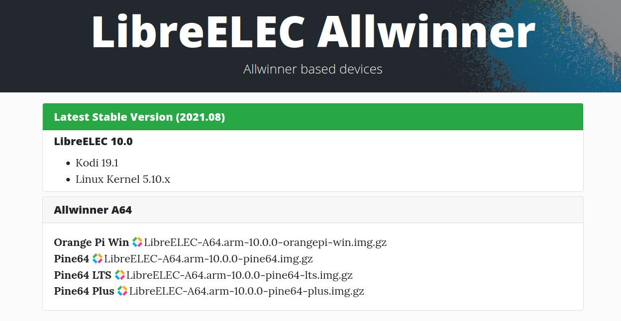 LibreELEC 10.0