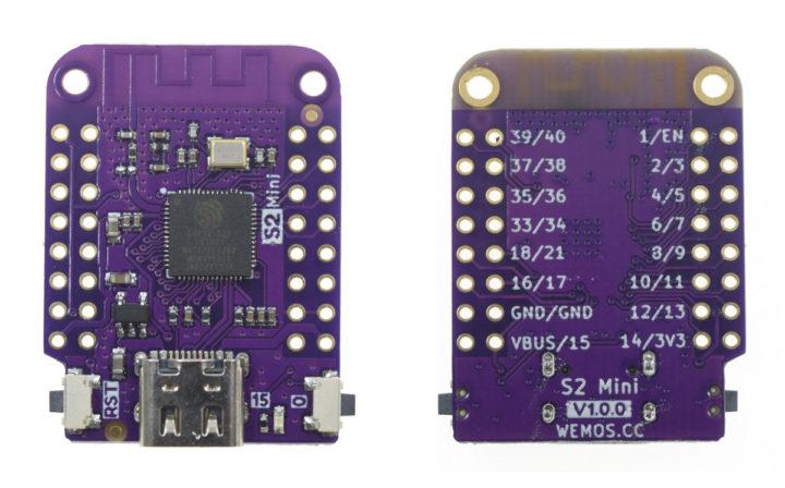 Lolin S2 Mini board