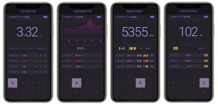 QUARK multitool mobile app