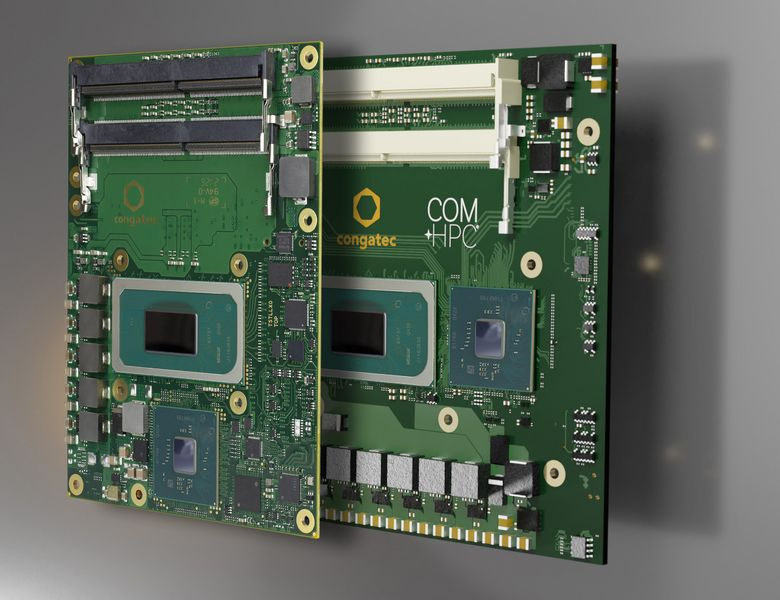 Tiger Lake-H COM-HPC & COM Express CPU modules