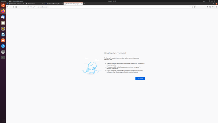 pfsense blocked website