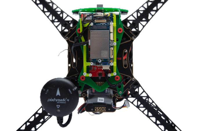 Qualcomm 5G drone pixhawk 4 GPS