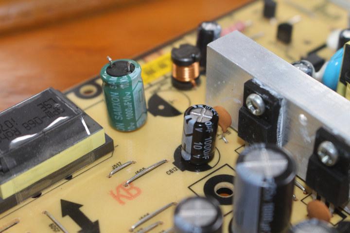 1000ua / 10V capacitor replacement