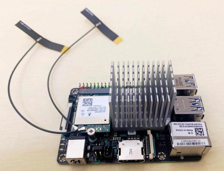 ASUS Tinker Board 2S Heatsink antennas