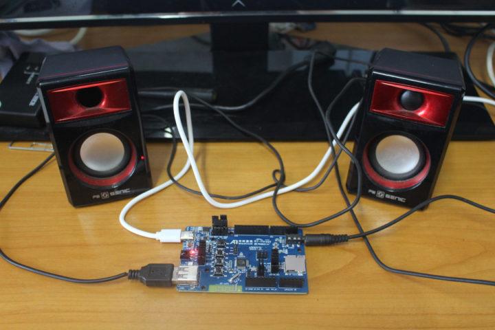 Bluetrum AB32VG1 RISC-V Bluetooth audio board