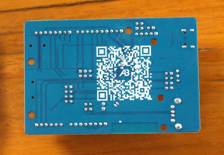 Bluetrum board Wechat QR code