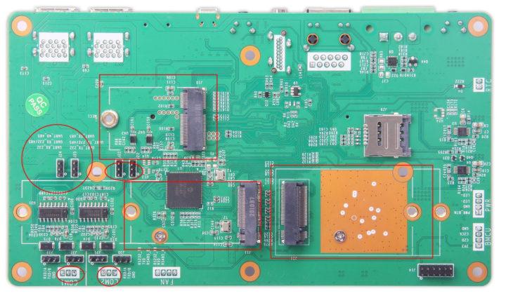Jetson Nano Carrier Board with M2 sockets & UART
