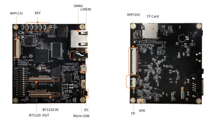 Lindenis V833 development board