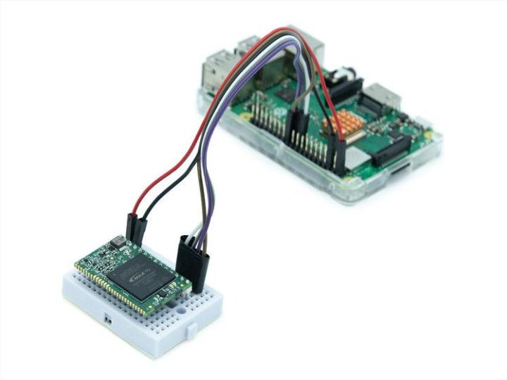 Raspberry Pi encryption Kryptor FPGA