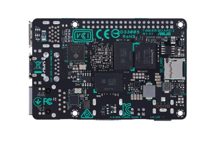 Rockchip OP1 SBC with eMMC flash, MicroSD card